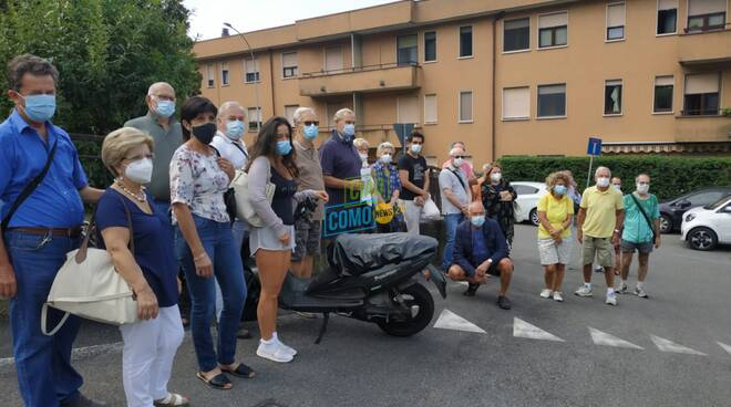 protesta residenti sagnino e ponte chiasso per carenza gas