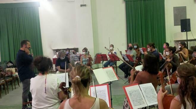 prove orchestra terraneo concerto di sant'abbondio 2021 salone musa