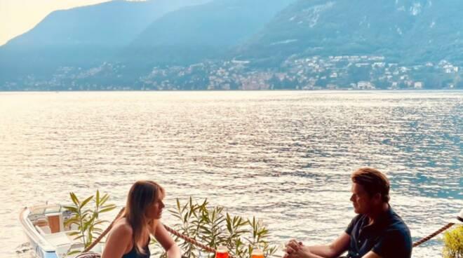 Riprese tv olandese sul lago di Como