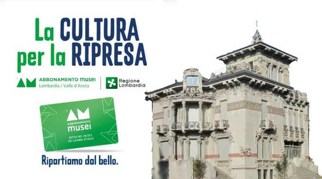villa bernasconi abbonamento musei
