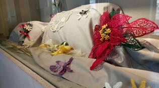 CiaoComo alla Biennale del Merletto di Cantù tra fiori e altri capolavori