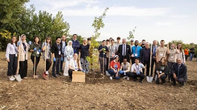 Youth4Climate e Minoprio piantumazione alberi