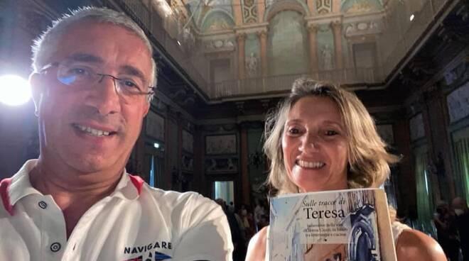 Monica Molteni e Marco Guggiari - libro Sulle tratcce di Teresa