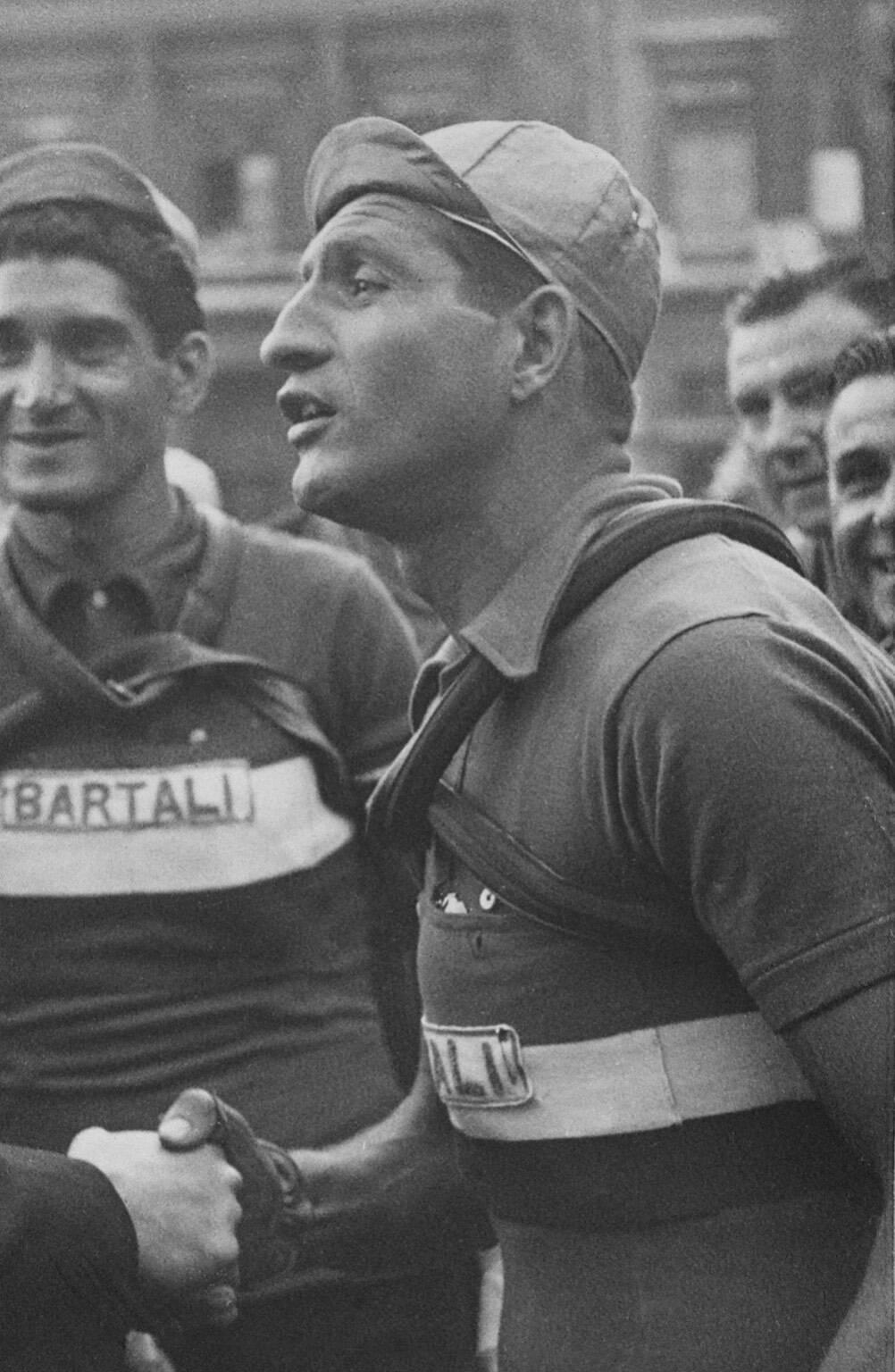 Gino Bartali omaggio a Cermenate