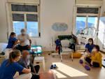foto palestra yoga al COF Lanzo Hospital