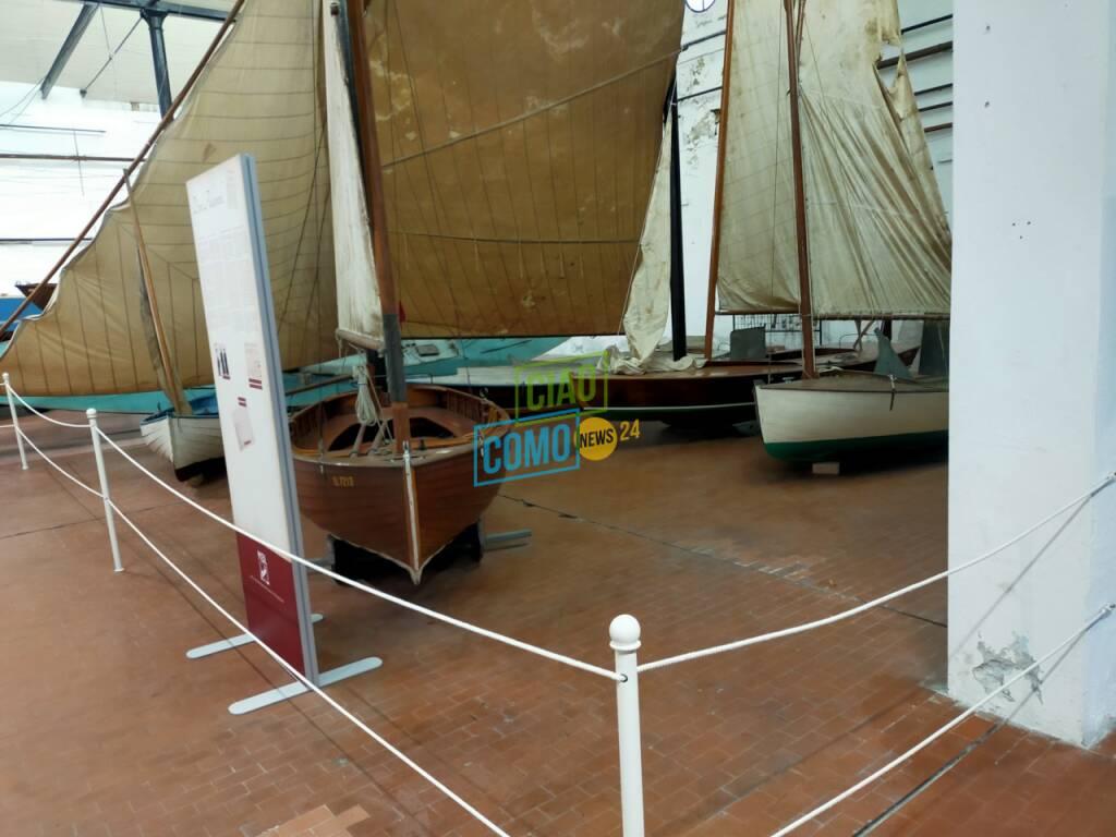 inaugurazione sala Riva al museo della barca lariana modelli esposti inaugurazione museo pianello