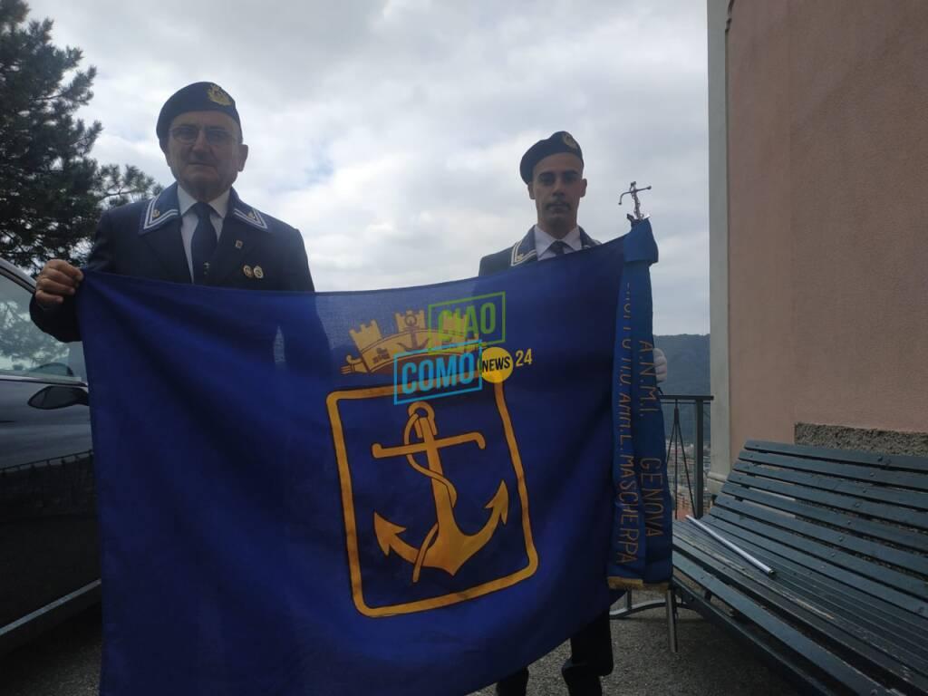 incontro marinai di como e di Genova sacrario di Garzola