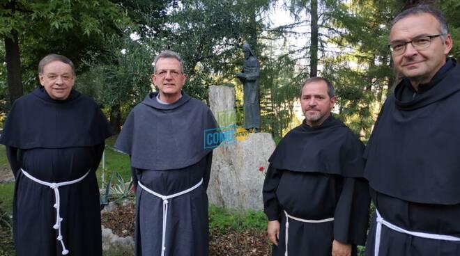 ingresso nuovi frati parrocchia sant'antonio da padova di como albate