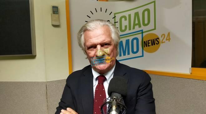 mario bulgheroni presidente comonuoto in studio per abbondino d'oro 2021