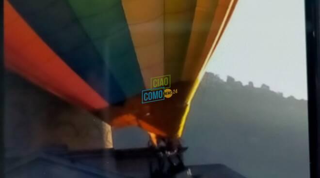 mongolfiera contro tempio voltiano impatto