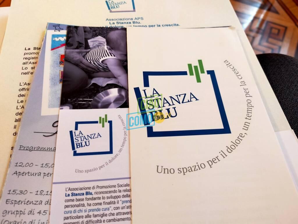Presentazione progetto Casa blu di Como: punto di incontro per genitori e neonati