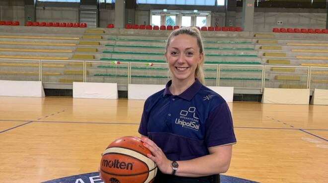 sophie carrigill nuovo acquisto basket briantea84 unipolsai