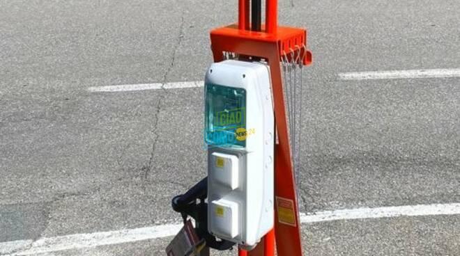 stazione di pit stop a dizzasco valle d'Intelvi per ciclisti in difficoltà
