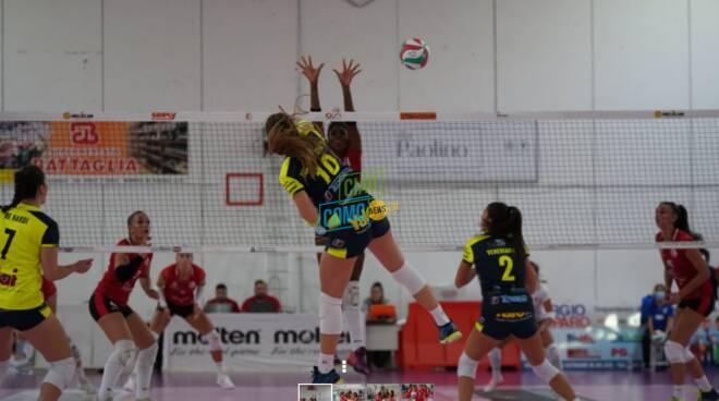 tecnoteam albese sconfitta a soverato prima campionao a2 volley donne