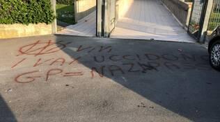 vandalismo vicino a scuole e asilo ad olgiate comasco dei no vax