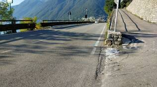 variante tremezzina ecco i punti di ingresso e di uscita colonno e griante dove la strada inizia e finisce