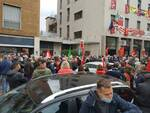 via italia libera como manifestazione di vicinanza alla cgil dopo attacco di ieri a roma