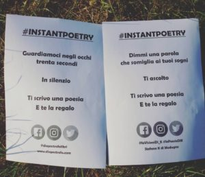 instant poetry Cantù