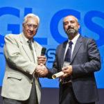 Casinò di Campione d'Italia serata Momenti di Sport, il vice sindaco Alfio Balsamo premia Ivan Cappelli